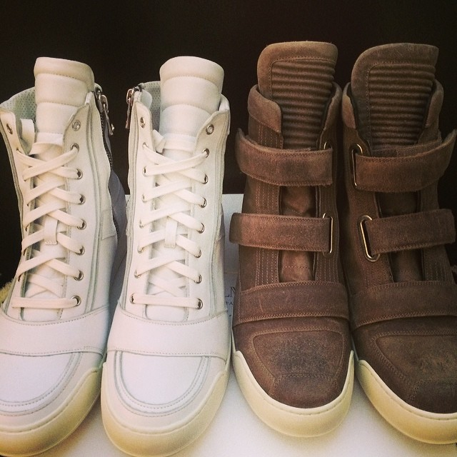 Chad Johnson Picks Up Balmain Sneakers