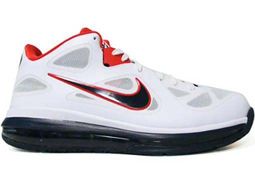 big sale 4e3b9 4f6bc Nike LeBron 9 IX Low USA Olympics 510811-101