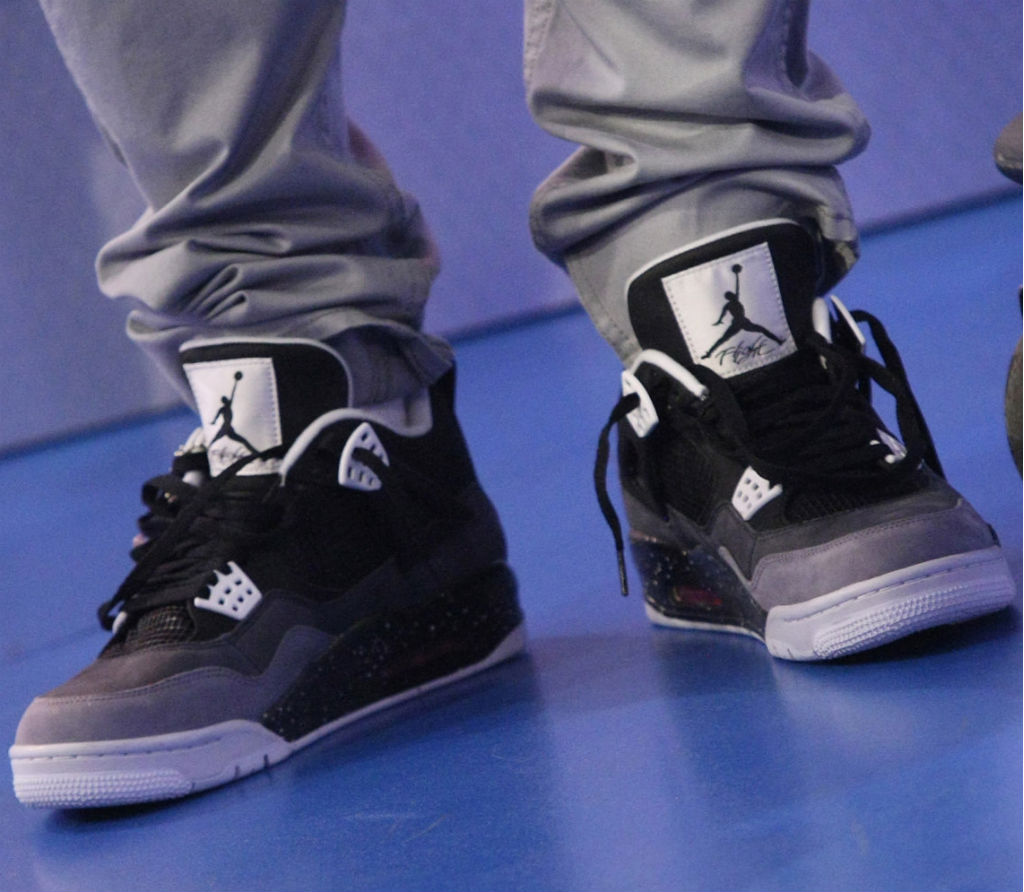 Bow Wow wearing Air Jordan IV 4 Retro Fear Pack (2)