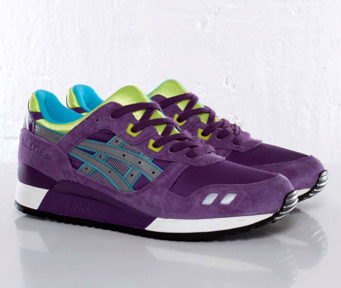 3d63e7aded13 ASICS Gel-Lyte III - Purple Grey