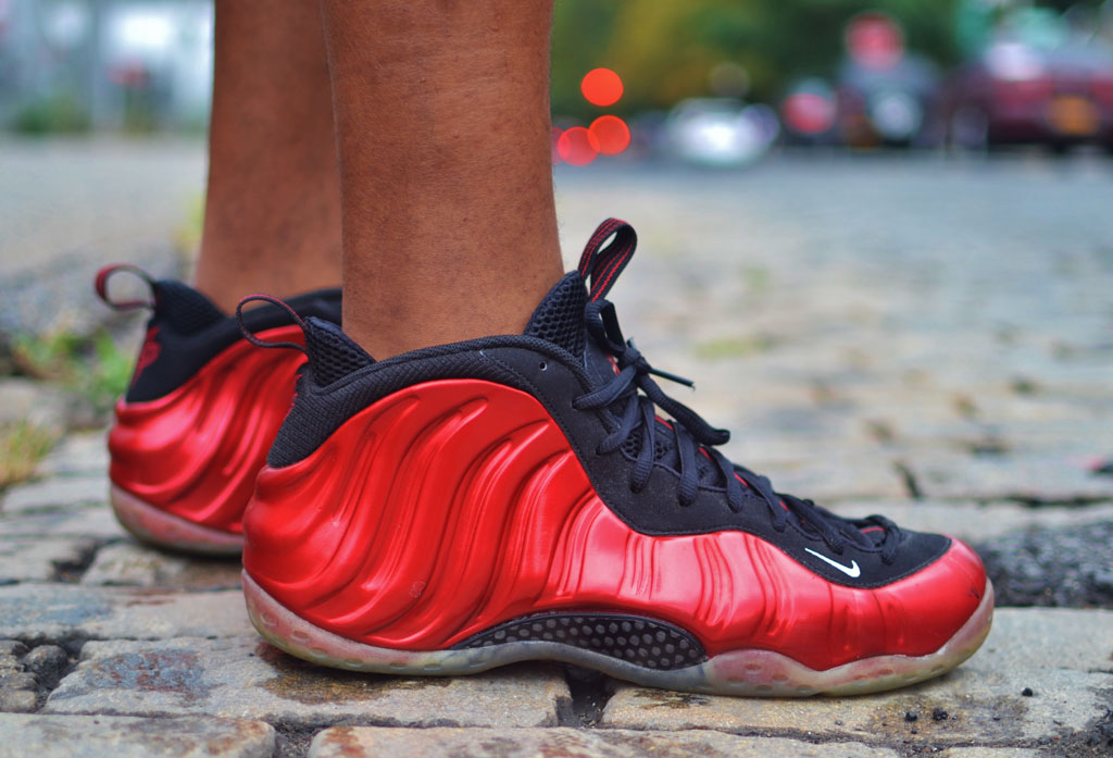b8bfe3fc4aa ... australia jamrock84 in the metallic red nike air foamposite one 417bf  6f773