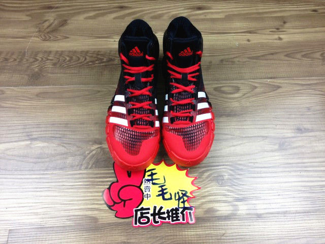 adidas Crazyquick Black Red (2)