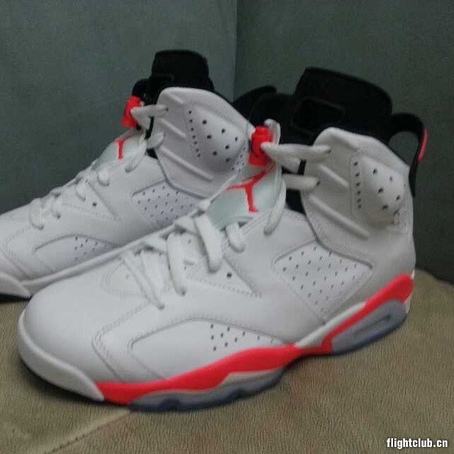 100% top quality a few days away check out Air Jordan 6 Retro - White/Infrared - 2014 Release | Sole ...