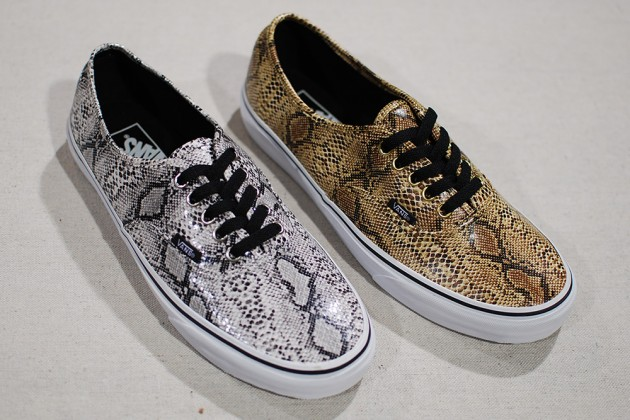 Last week s Agenda Show brought us a first look at many upcoming footwear  styles including this all new Vans Authentic