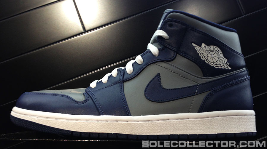 low priced 215fe 0e248 Air Jordan Retro 1 - Cool Grey/White-Midnight Navy | Sole ...