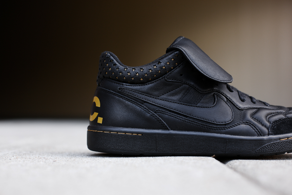 Nike Tiempo 94 Mid 'F.C.' in Black/Metallic Gold | Sole Collector