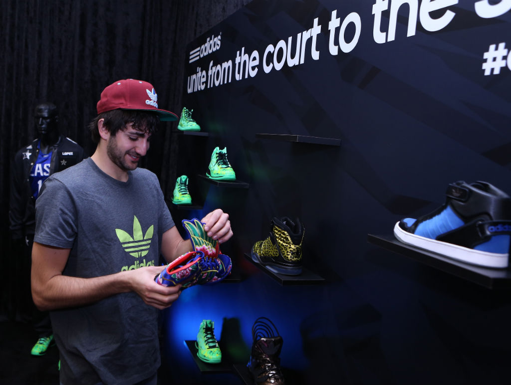 adidas Basketball Athletes Celebrate NBA All-Star // Ricky Rubio (3)