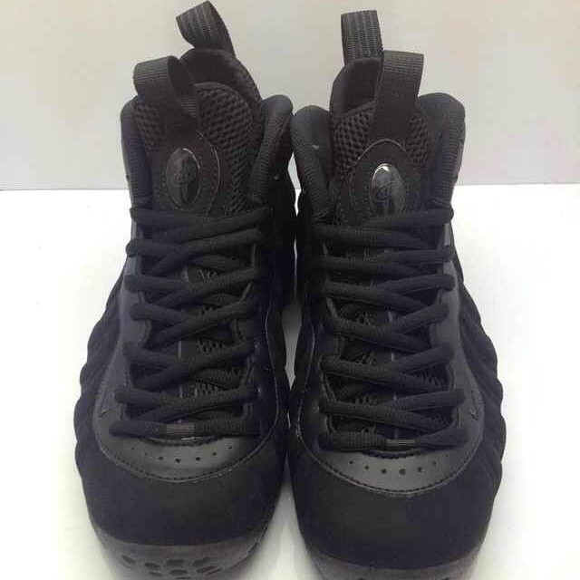 Nike Air Foamposite One Black Suede (2)