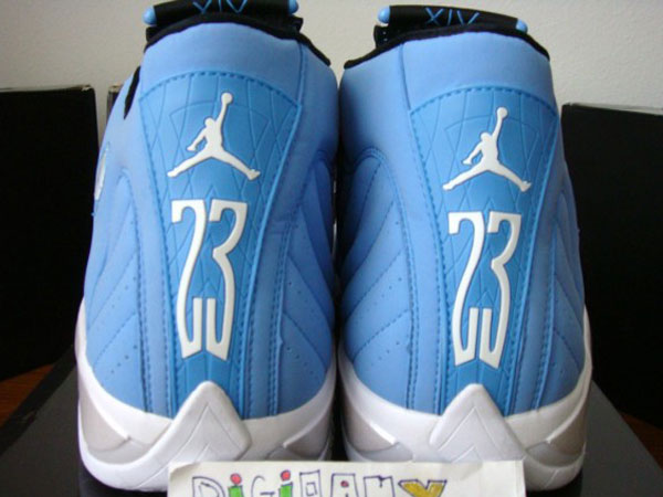 wholesale dealer 52149 c97a1 Air Jordan Retro 14 - Pantone 284 - Non-Laser Sample | Sole ...