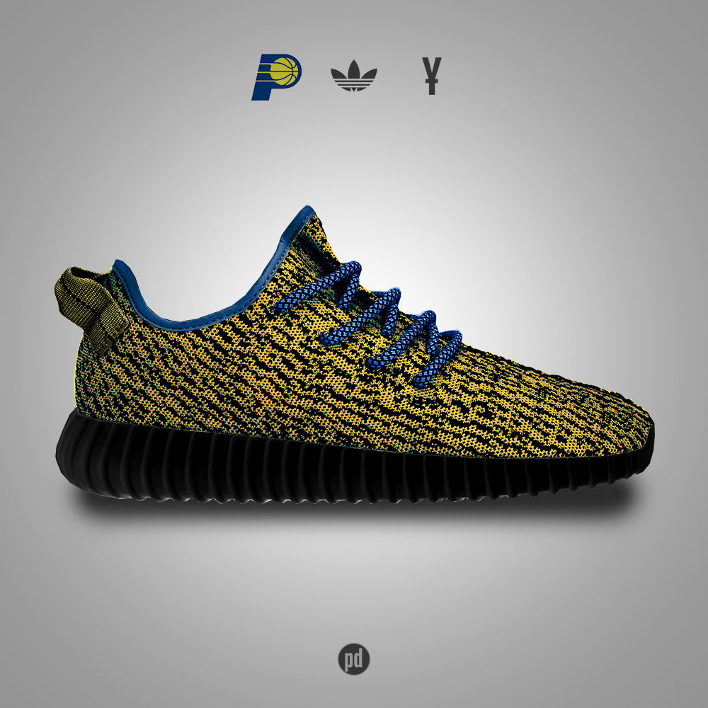 adidas Yeezy 350 Boost for the Indiana Pacers