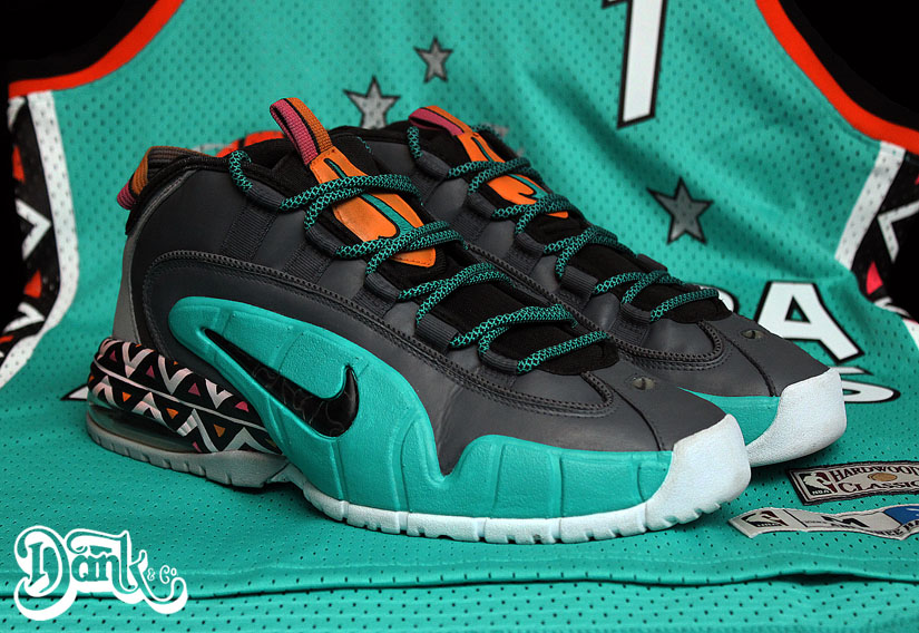 7772d37d45 Nike Air Penny 1 '1996 All-Star Game' by Dank Customs | Sole Collector