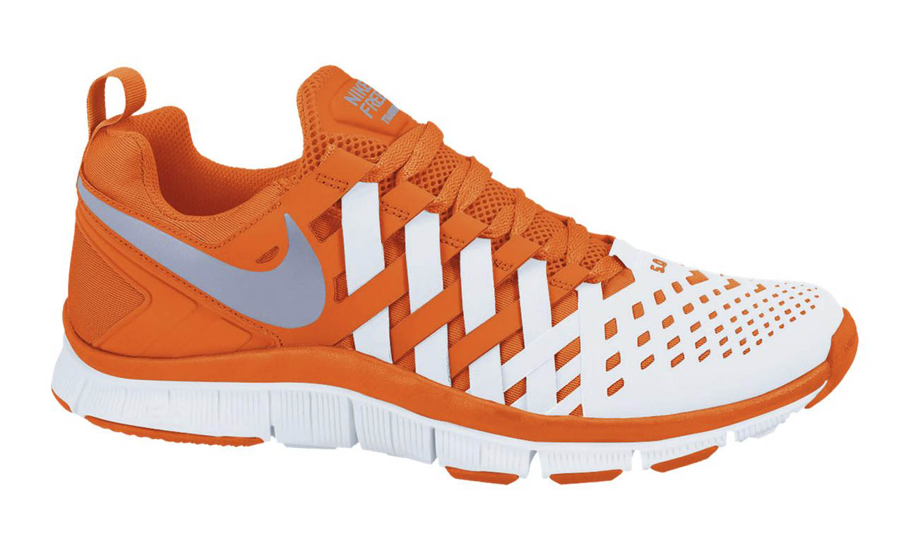 quality design 8e4a1 7599d ... Nike Free Trainer 5.0 - Safety Orange White . ...