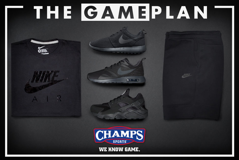 7ab7e09bb1c The Game Plan by Champs Sports Presents the  Lights Out  Collection ...
