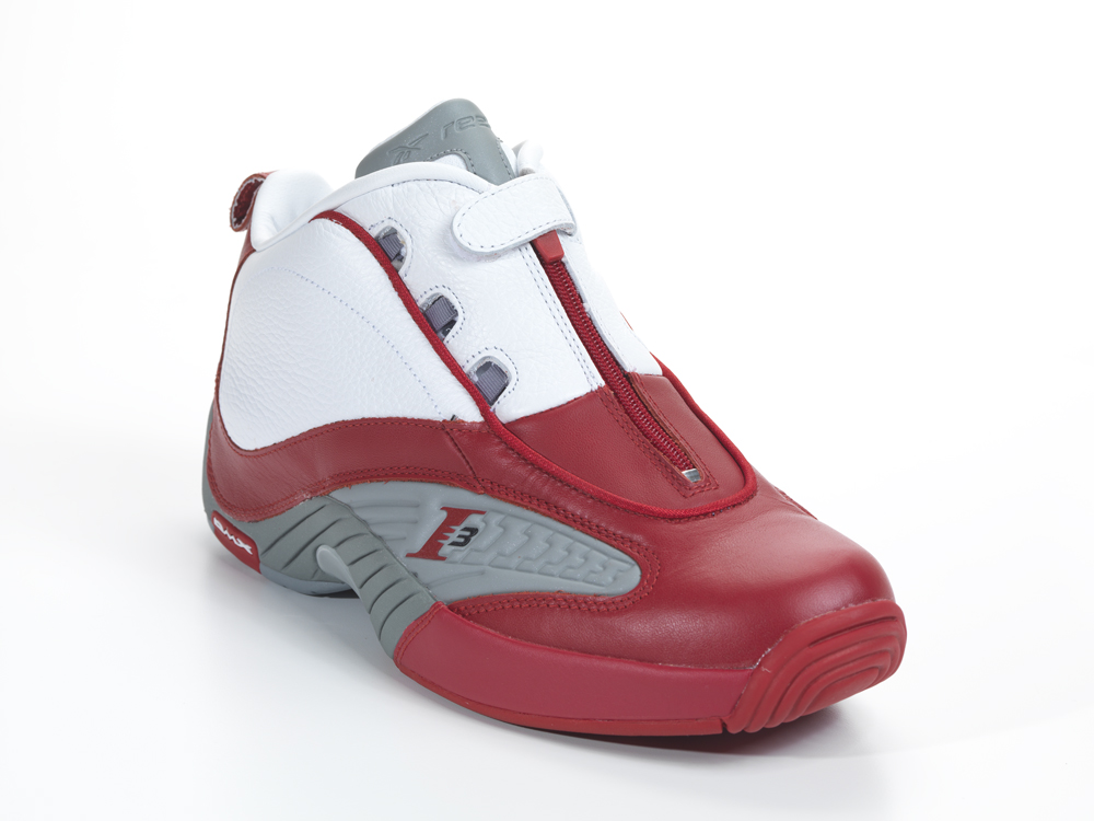 new arrivals 04b68 f6f91 Reebok Answer IV - White Red-Grey - New Images
