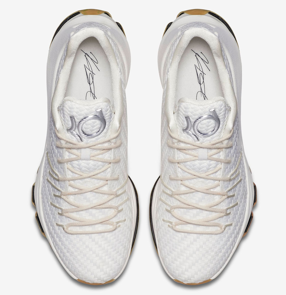best service 8cd18 05e80 Nike KD 8 EXT White Woven 806393-100 (5)