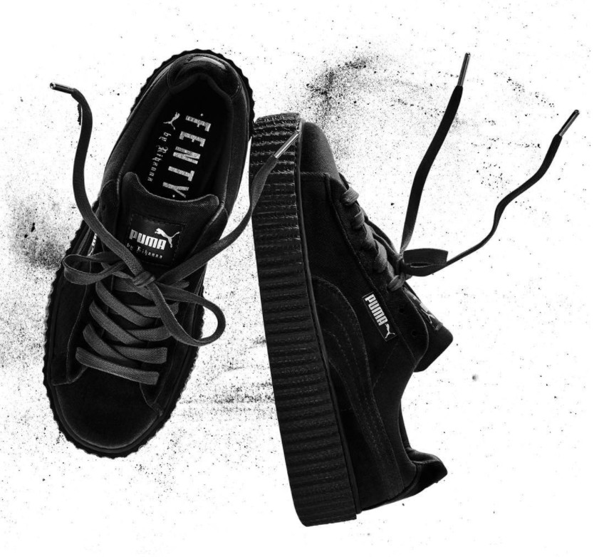 sports shoes aab3d f81b5 Puma Velvet Shoes Rihanna wearpointwindfarm.co.uk