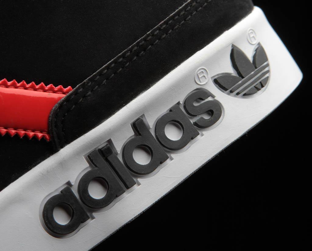 adidas Originals Camo Pack Top Court Mid Shoes Black Infrared (8) 7ba1d2df9