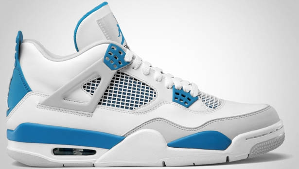 Air Jordan 4 Retro Military Blue '12