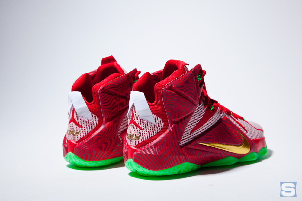 the best attitude 5ab04 896a2 An In-Depth Look at the Nike LeBron 12 'Sprite Mix' Pack ...