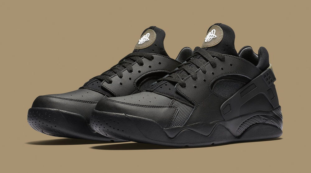 cb0254d054db0 Nike Air Flight Huarache Low Black Anthracite