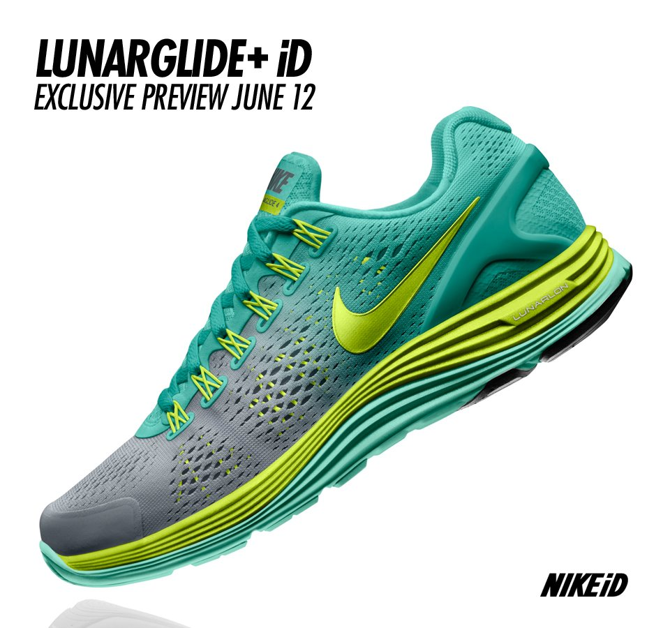 lowest price 1b723 5a99e Nike LunarGlide+ 4 - NIKEiD Preview