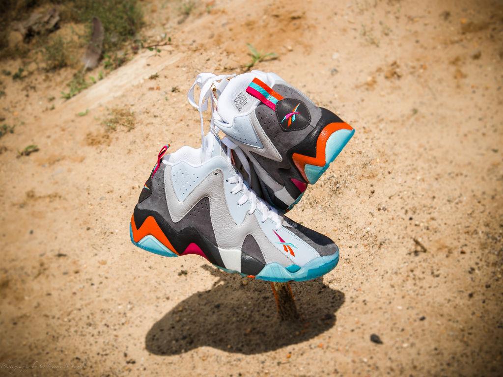 28a7a953582f Packer Shoes x Reebok Kamikaze II x Mitchell   Ness