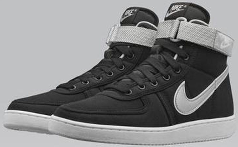 Nike Vandal High Black/Metallic Silver