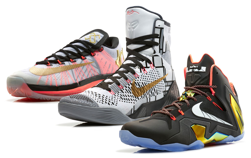 Nike Basketball Unveils the Elite Series Gold Collection