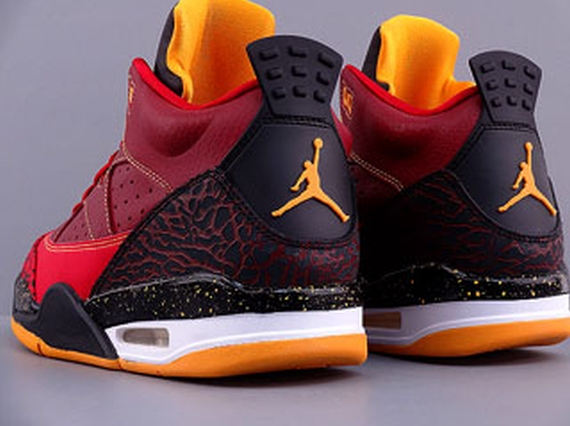 online store 570fc 51276 Jordan Son of Mars Low- Team Red Gym Red-University Gold