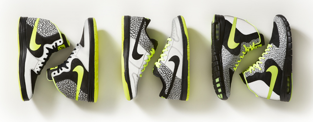 Nike SB Volt Collection reflective details