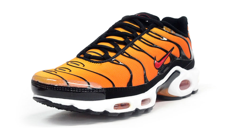 premium selection 0d3ab 1fe9f Nike Air Max Plus - Tour Yellow / Team Orange / Black | Sole ...