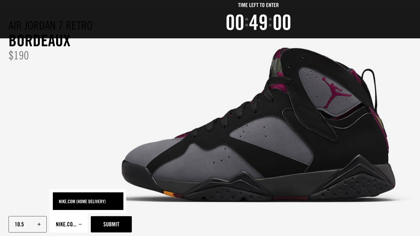 When Nike Introduced This New System It Said People Would Have The Option To Pick Up Pairs In Or Them Shipped Via Com But Only Latter