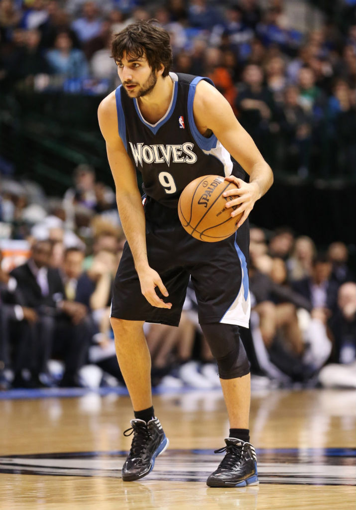 info for 7f2bb d8091 Ricky Rubio wearing adidas adizero Crazy Light 2 Away PE