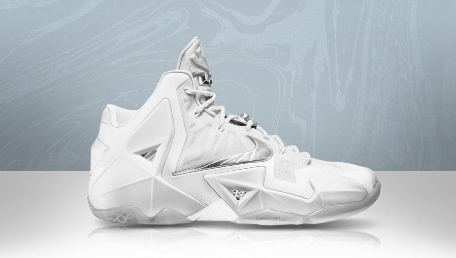 Nike LeBron XI 11 All-White