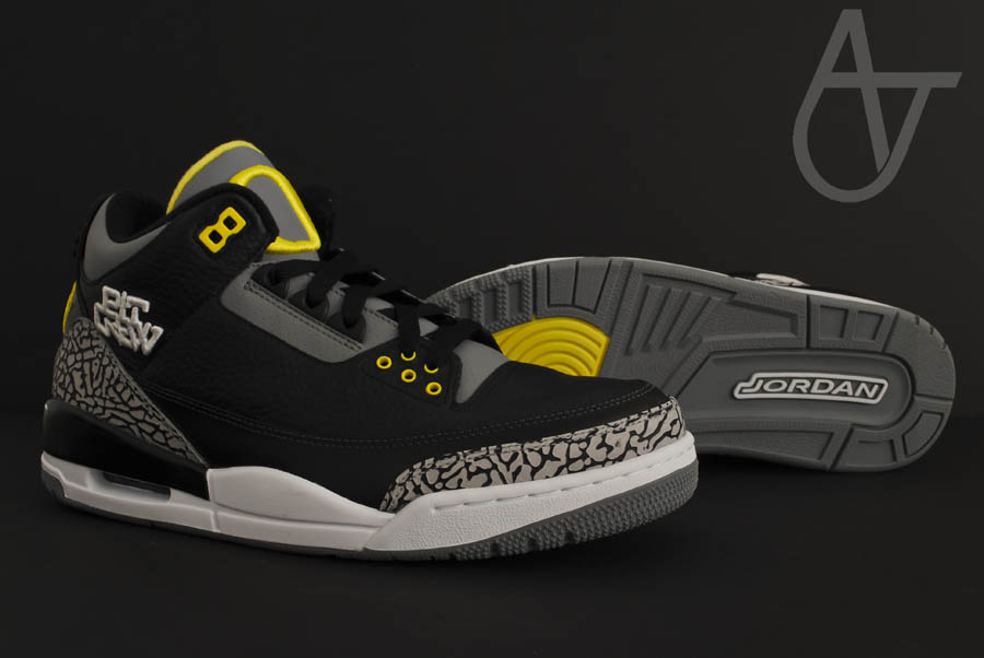 Air Jordan Retro 3 - Oregon Ducks Pit Crew Away (7)