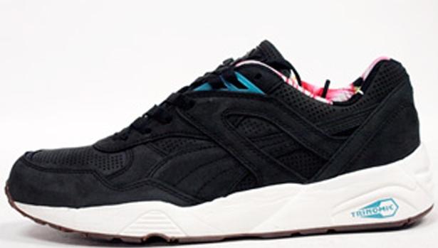 Puma R698 Black/Black