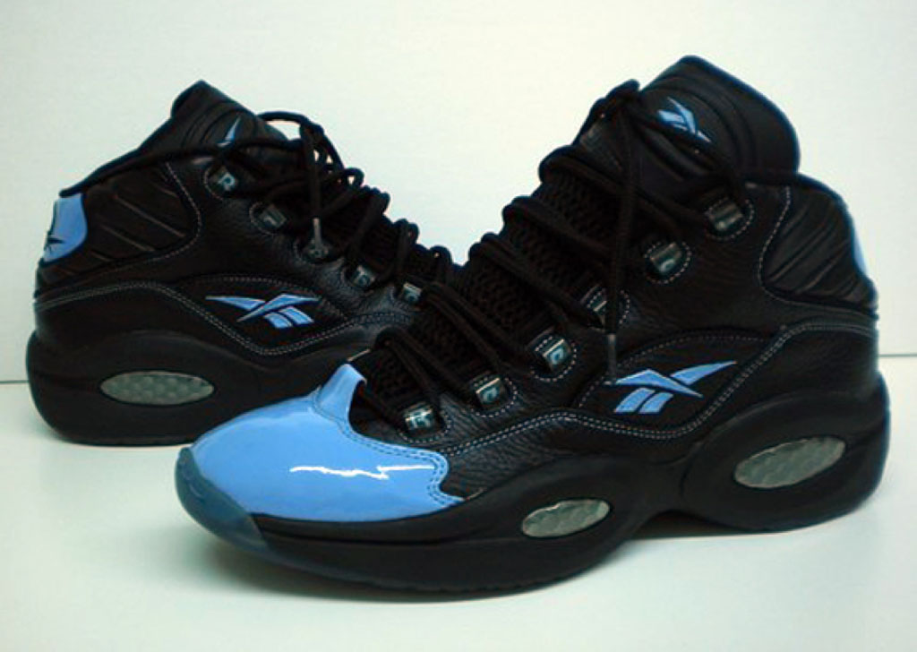Reebok Question Black/Light Blue