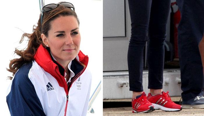 3d90e5480 Kate Middleton Wears adidas Supernova Glide 4 GB