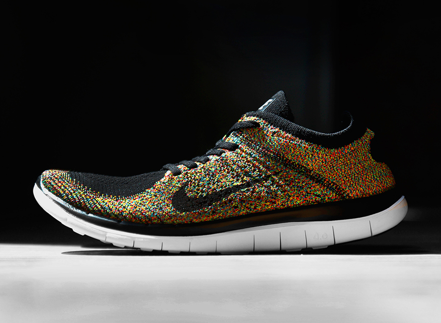 low priced cfeea c21ab ... Nike Flyknit Free 4.0 - Multi-Color ...