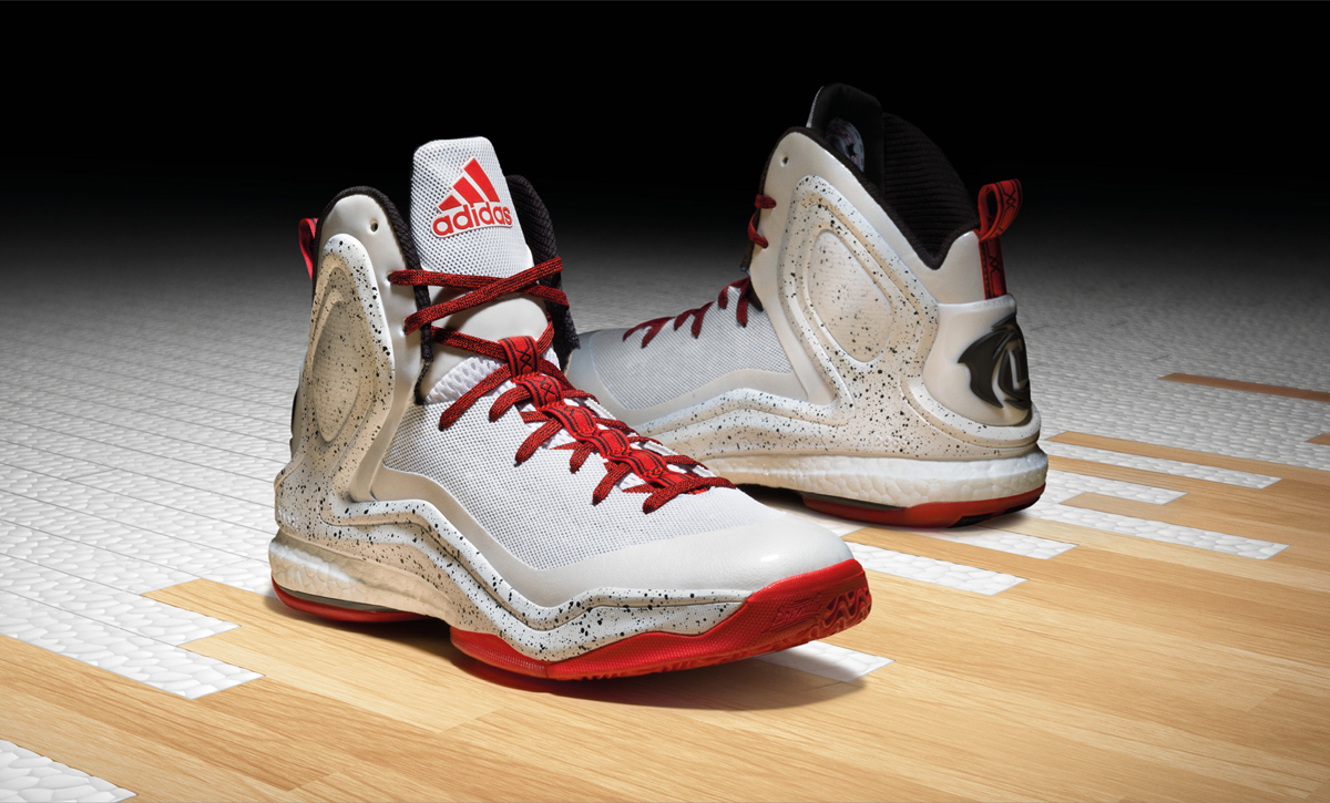 2adidas d rose 5 boost gold