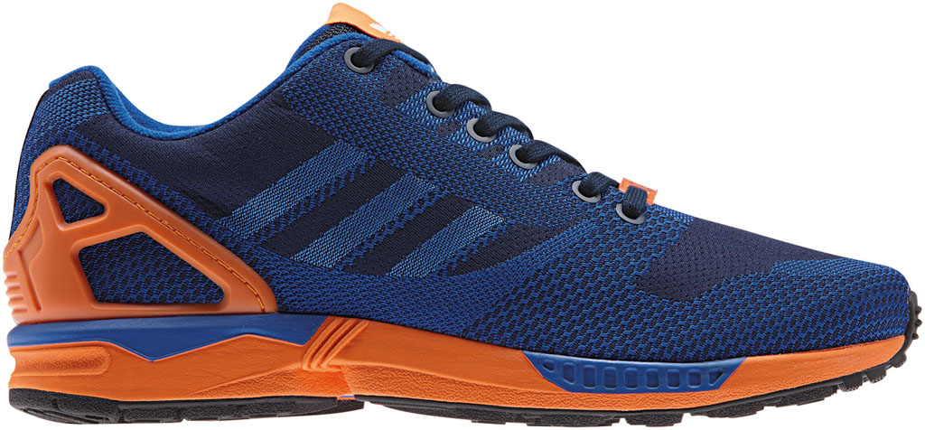 adidas ZX Flux 8000 Weave Pack Blue Orange (1)
