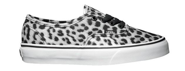 leopard vans black sole