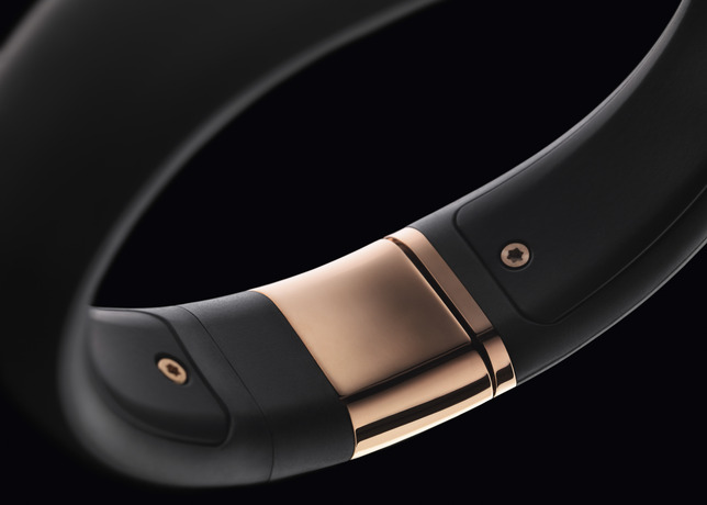 Nike+ FuelBand SE METALUXE Rose Gold clasp