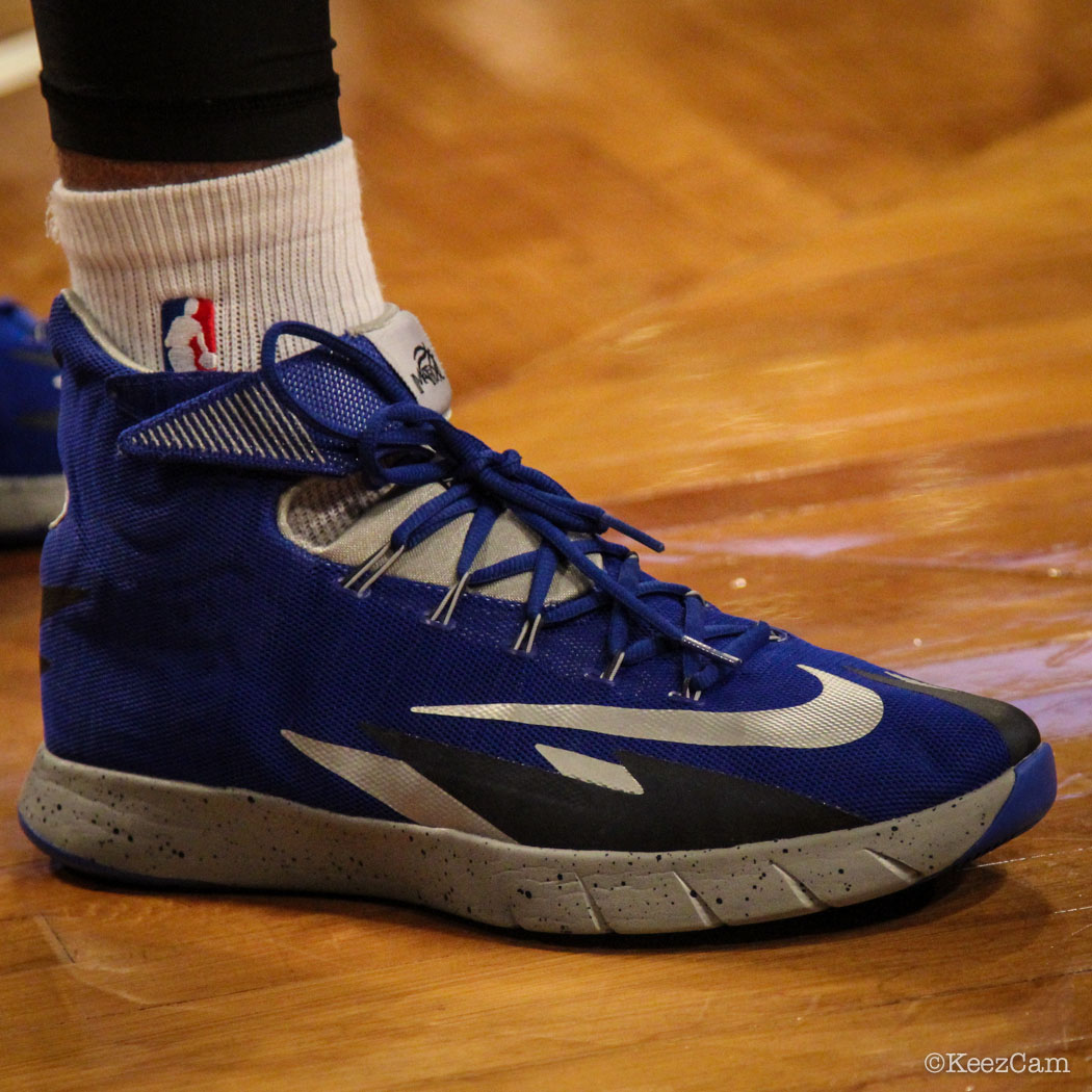 ... Shawn Marion wearing Nike Zoom HyperRev PE Hyperfuse ... c462823458d