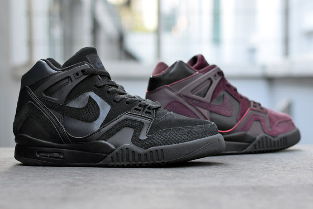 f512a62dda00 The Nike Air Tech Challenge II gets  winterized  for the cold weather ahead.