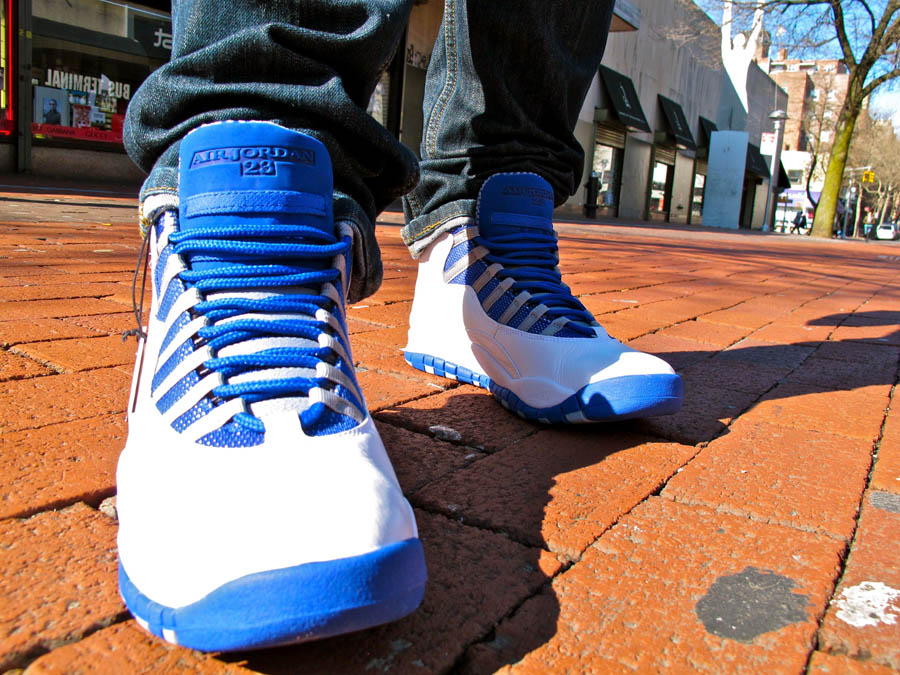 hot sale online 7c24f a61dd Air Jordan Retro 10 - White/Old Royal-Stealth | Sole Collector