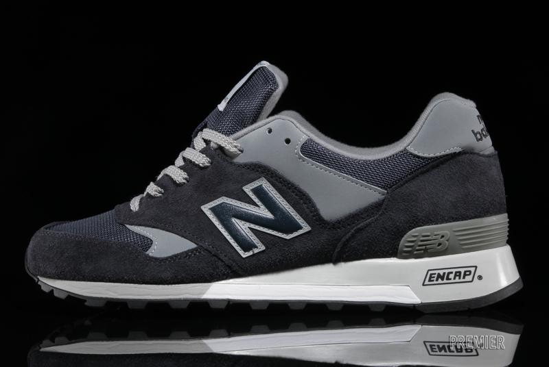 various colors 328fa b1ee0 New Balance Made in England 577 - Navy Grey