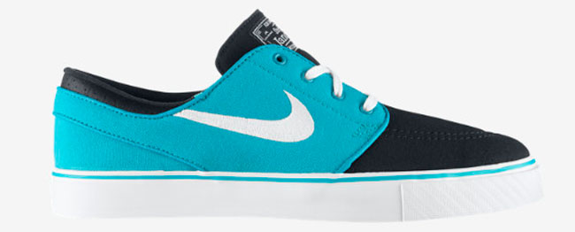 cf0891ed4cac Crystal Mint   Light Crimson   Black. Nike Zoom SB Stefan Janoski Canvas  Turbo Green   White   Obsidian