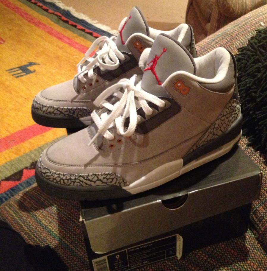 Spotlight // Pickups of the Week 6.9.13 - Air Jordan 3 Retro Cool Grey by Naylom11