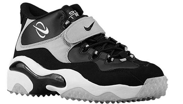 Nike Air Zoom Turf Black/Black-Metallic Silver-White